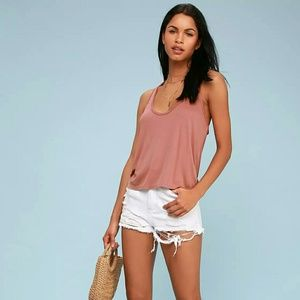Lulus NWT Dark Rose Tank. Medium.